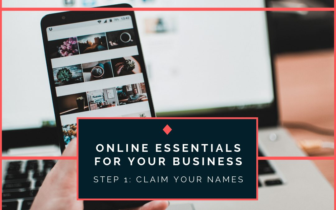Online Essentials for Your Business: Name Research