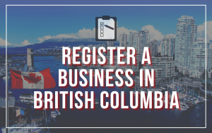 Register a business in British Columbia