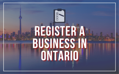 How to Register a Business in Ontario