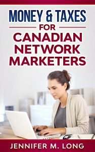 Money & Taxes for Canadian Network Marketers
